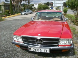 Mercedes Benz 450 SL (107)